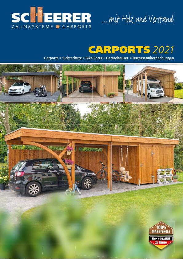 Scheerer Katalog Carports 2021
