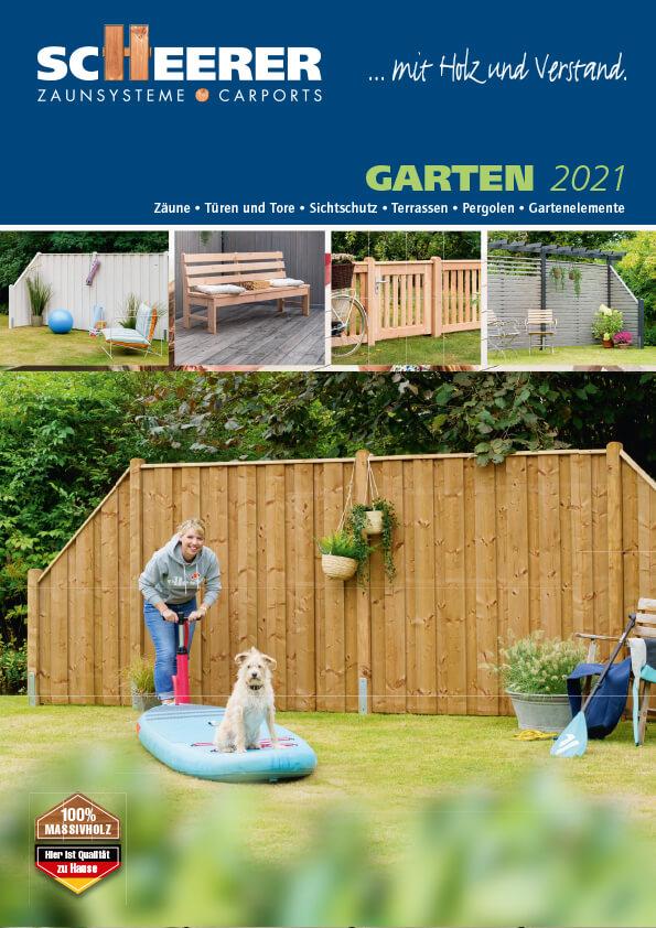 Scheerer Katalog Garten 2021
