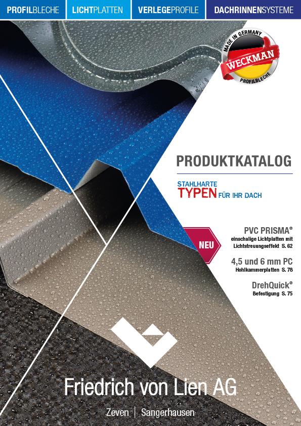 Friedrich von Lien AG Produktkatalog Titelbild
